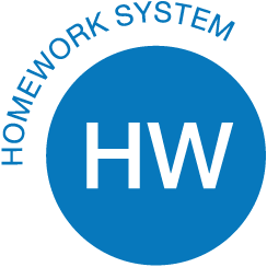 Homework system included